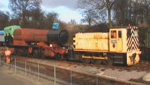 GWR 2884 Class 2-8-0 № 3862 being shunted from Pitsford Sidings