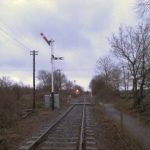 The new No. 29 signal at Boughton