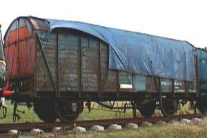 BR CCT № M37326 at Pitsford Sidings.