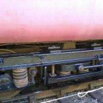 A close up view of BR Mk2 Coach 5174 newly painted B4 bogie. Photo: D.Millard