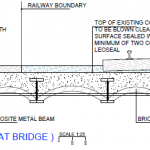 Bridge 11: Cross-section through the cattle creep arch at the northern end of the bridge.