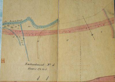 Bridge 11 & Southern end of Pitsford Sidings